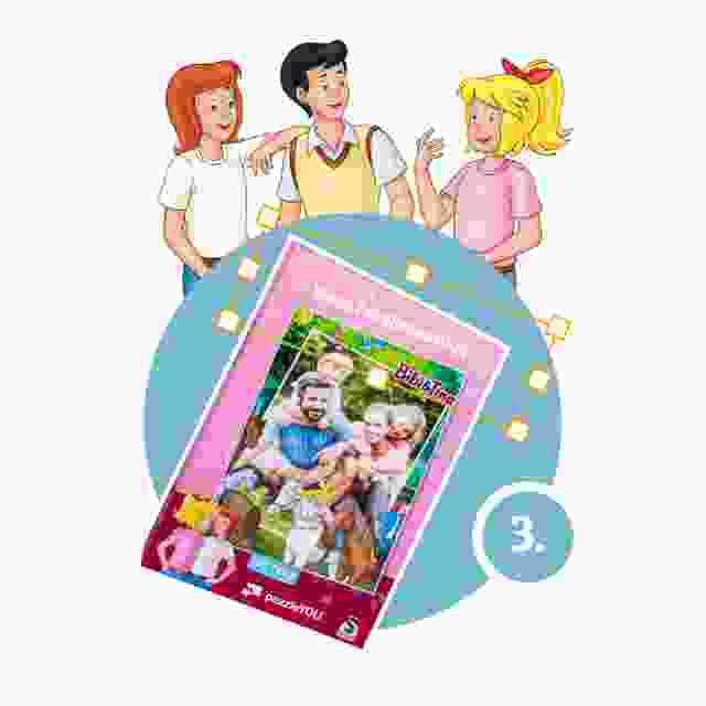 Bibi&Tina-Kinderpuzzle gestalten - Schritt 3