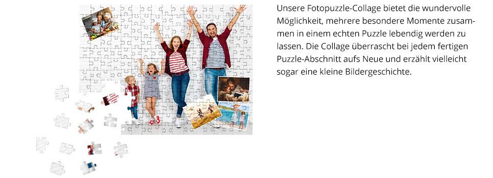 Motiv Fotopuzzle-Collage