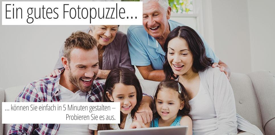 Fotopuzzle: einfache Bestellung