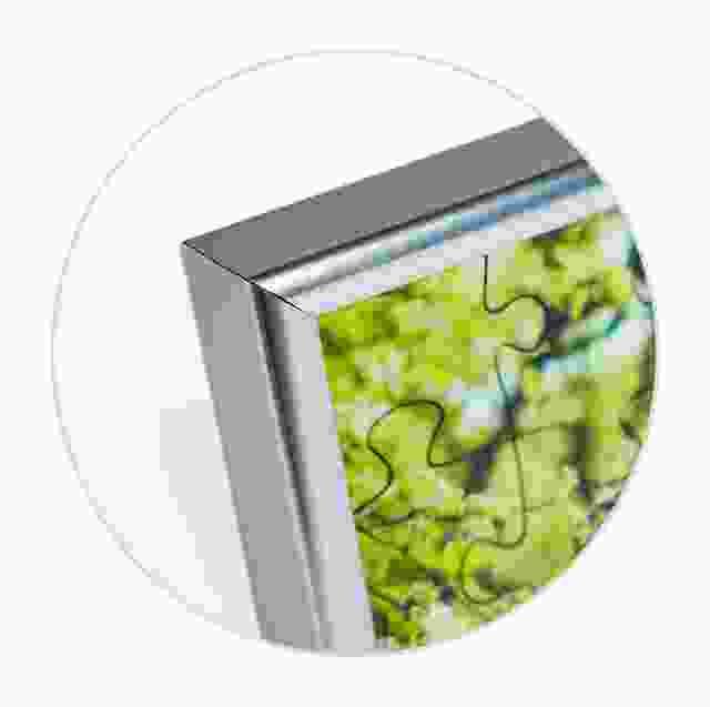 Puzzle-Rahmen 24 Teile Detailansicht