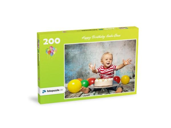 Foto Enkel für Oma - 200 Teile Puzzle