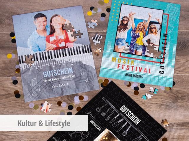 Gutschein Kultur & Lifestyle