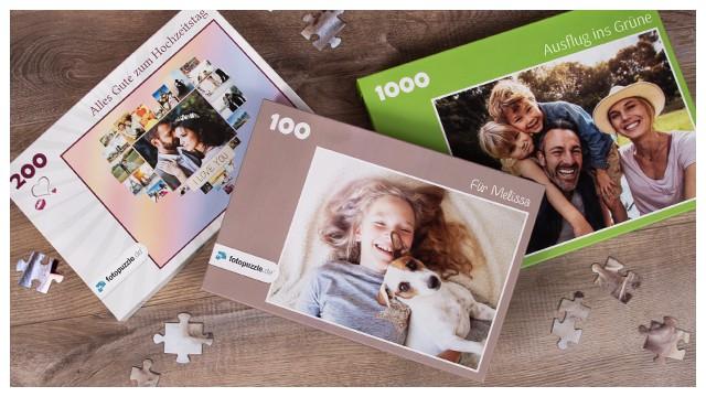 Fotopuzzle-Spaß das ganze Jahr