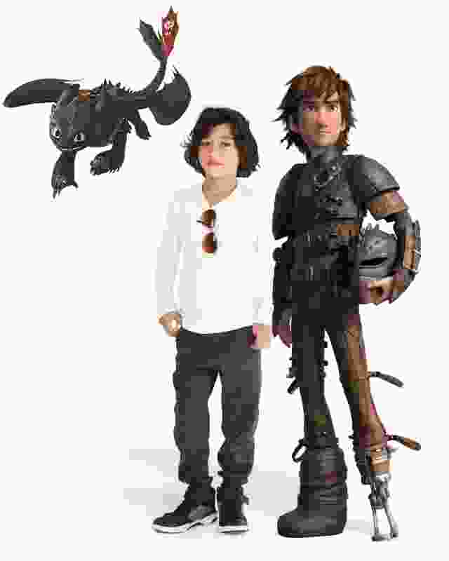 Die Dragons und Ihr Kind - gemeinsam auf einem Puzzle