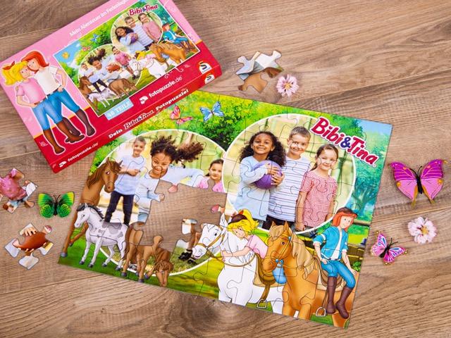 Kinderpuzzle als kreatives Ostergeschenk