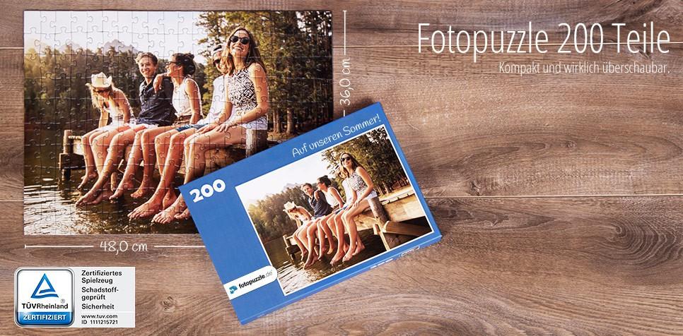 200 Teile Fotopuzzle