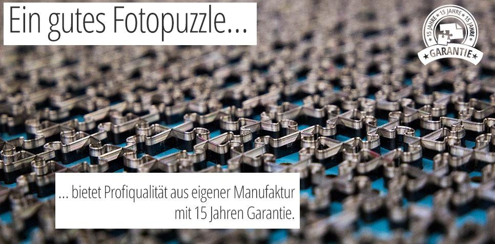 Fotopuzzle Qualität