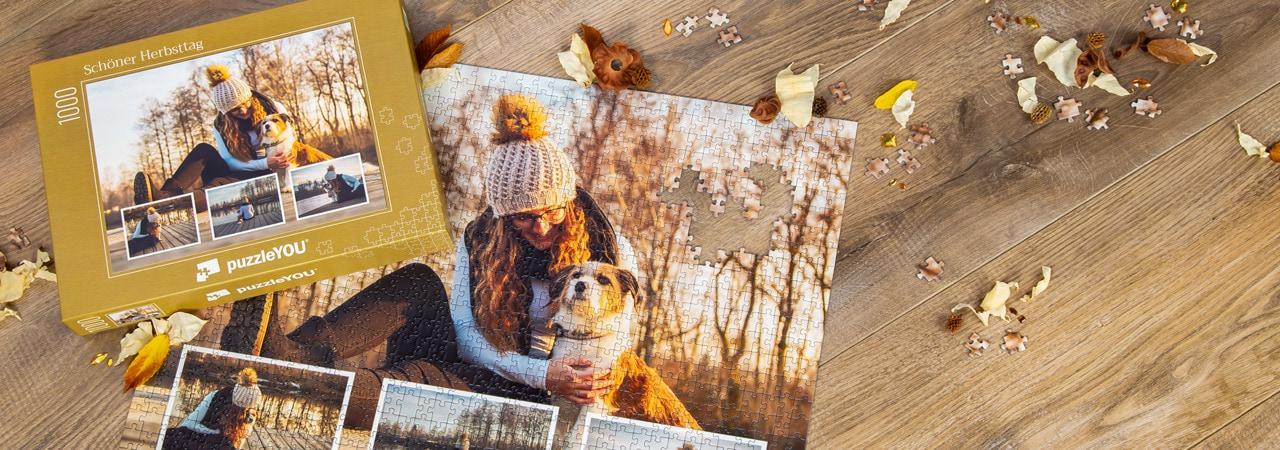Bewahren Sie Ihre Lieblingsmomente auf einem Fotopuzzle