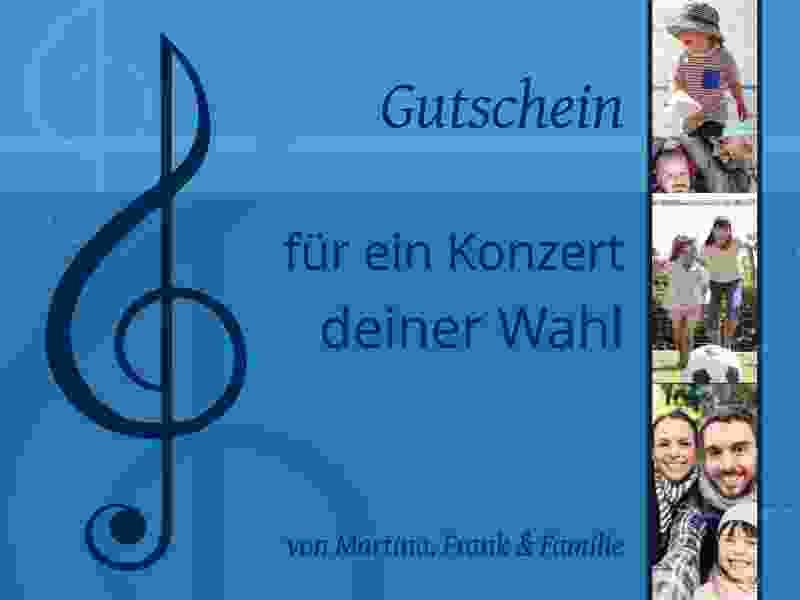 Gutschein Konzert