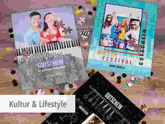 Gutscheine Kultur & Lifestyle