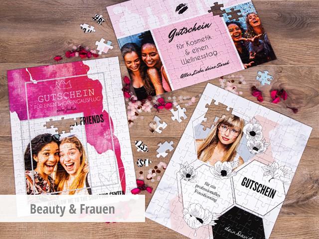 Gutschein für Frauen & Beauty