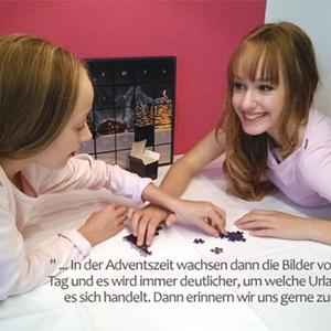 Kundengeschichte zum Puzzle-Adventskalender