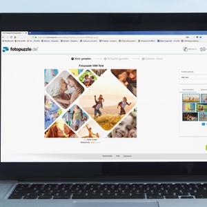 NEU: Die Fotopuzzle-Collage im besten Produkt-Designer aller Zeiten