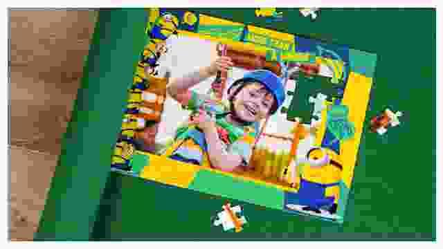 Puzzle-Matte für Minions-Kinderpuzzle