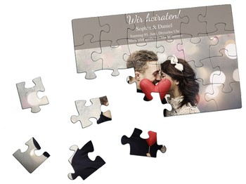 Save the Date Puzzle
