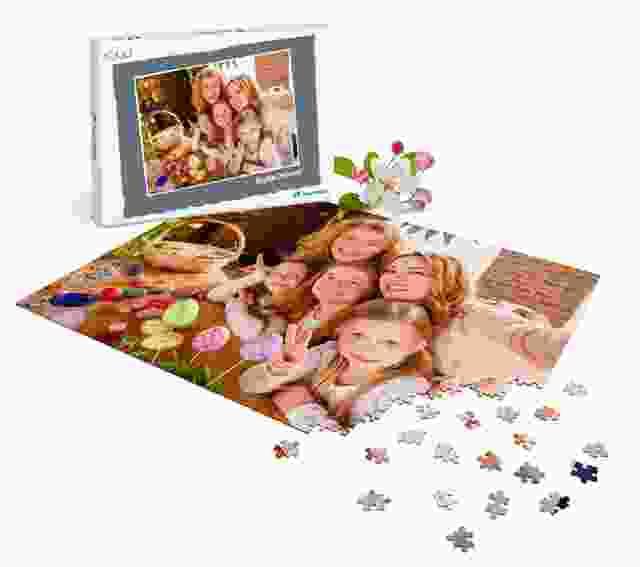 Fotopuzzle verschenken zu Ostern