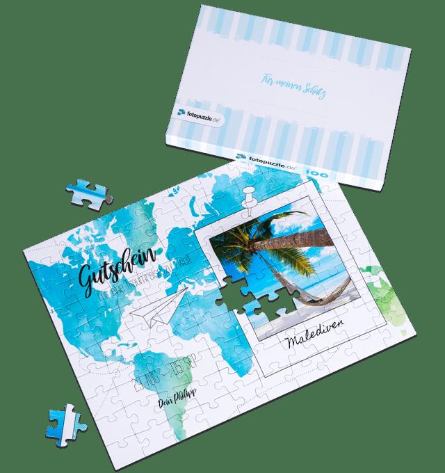Reisegutschein verschenken