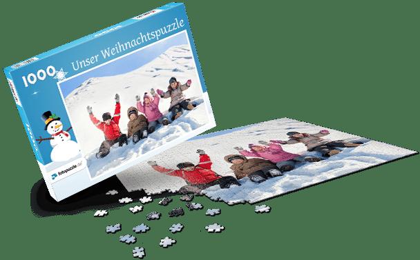 Puzzle-Schachtel Weihnachten I