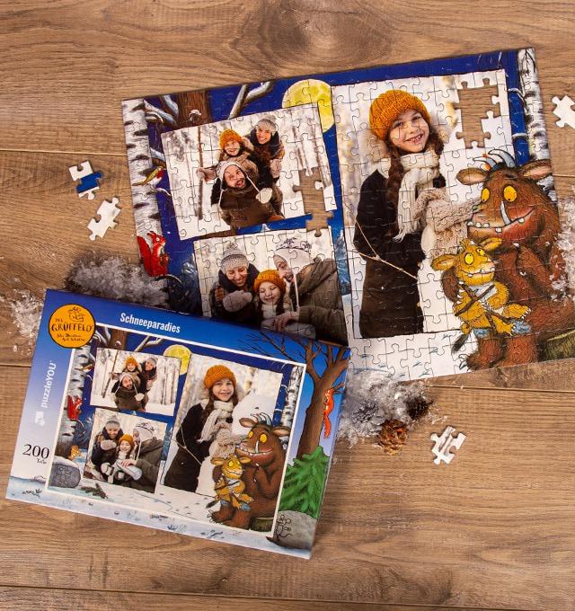 Kinderpuzzle als Weihnachtsgeschenk - Grüffelokind