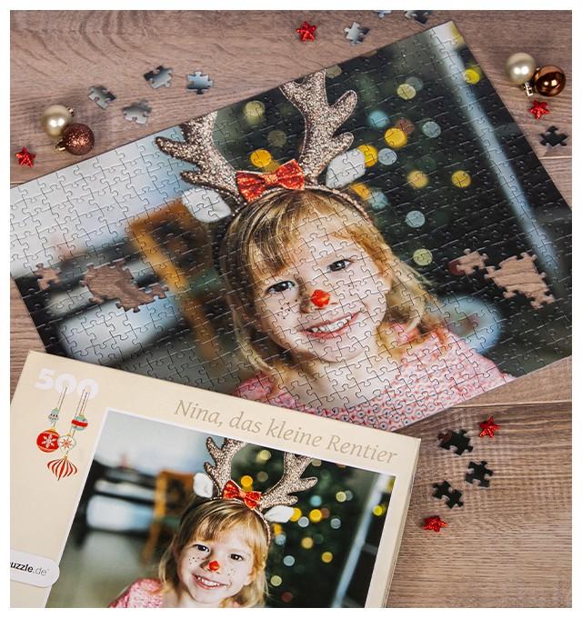 Weihnachtsgeschenke Fotopuzzle