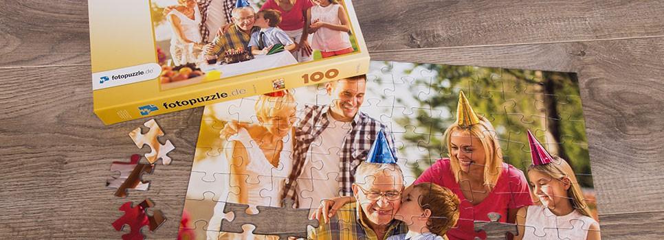 Inspirationen: Fotopuzzles zum Geburtstag