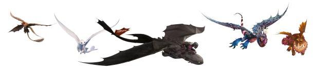 Trennlinie Dragons mobile