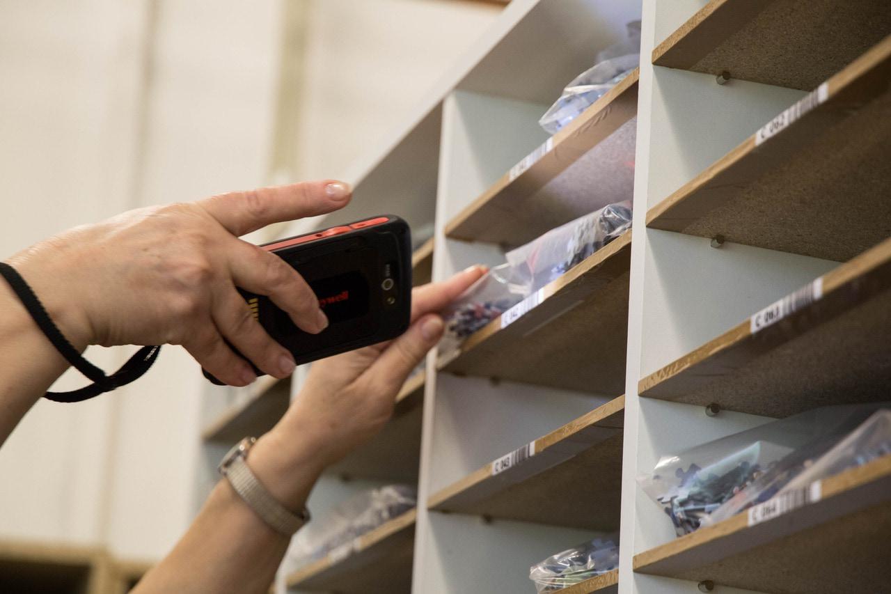 Abgleich Barcodes - Puzzle & Schachtel vereinen