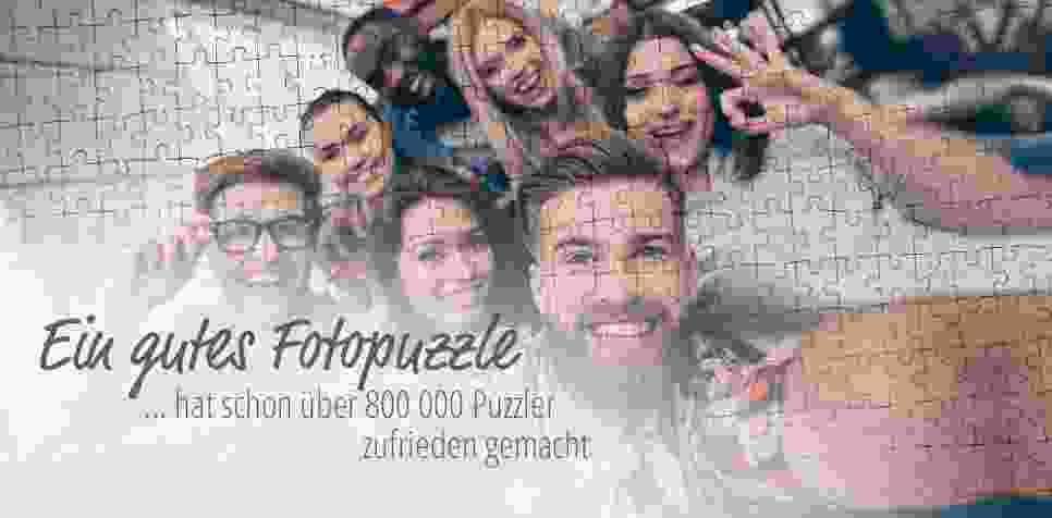Fotopuzzle: Zufriedene Kunden