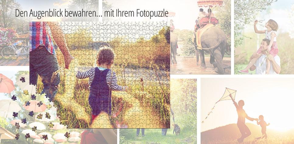 Augenblick bewahren mit Fotopuzzle