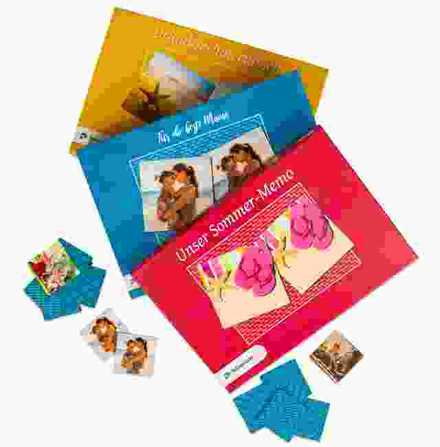 Farben Memo-Spiel-Schachtel