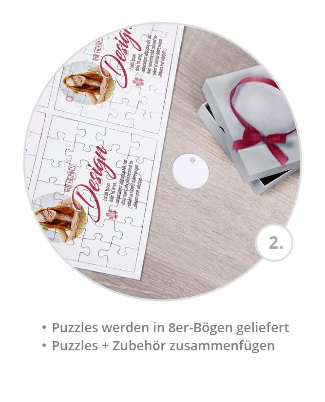 Gastgeschenk Hochzeit in 8er-Bögen