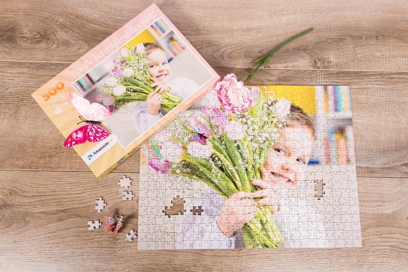 Fotopuzzle zum Geburtstag für Mama
