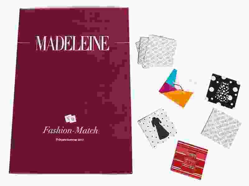 Werbespiel: Memo-Spiel von Madeleine Mode