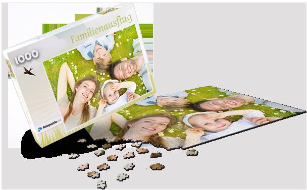 Puzzle-Schachtel Frühling