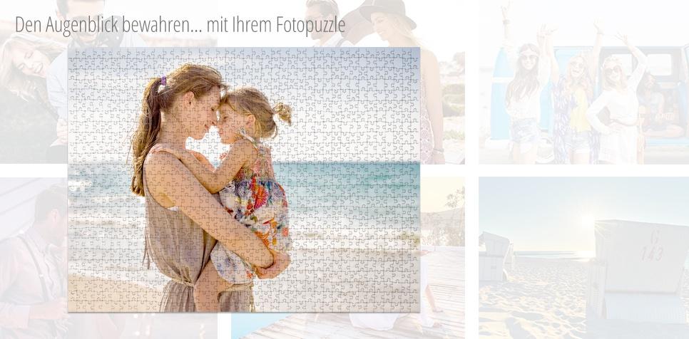 Den Augenblick bewahren mit Ihrem Fotopuzzle