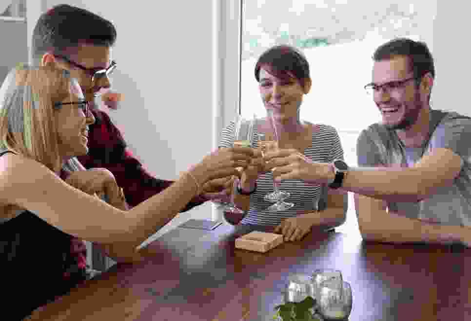 Video Dreh - Übergabe der Einladung