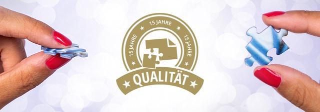 Puzzle-Qualität von puzzleYOU