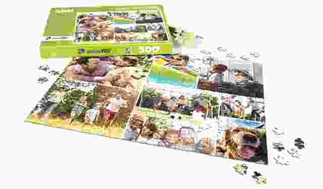 Fotopuzzle-Collage zum Muttertag