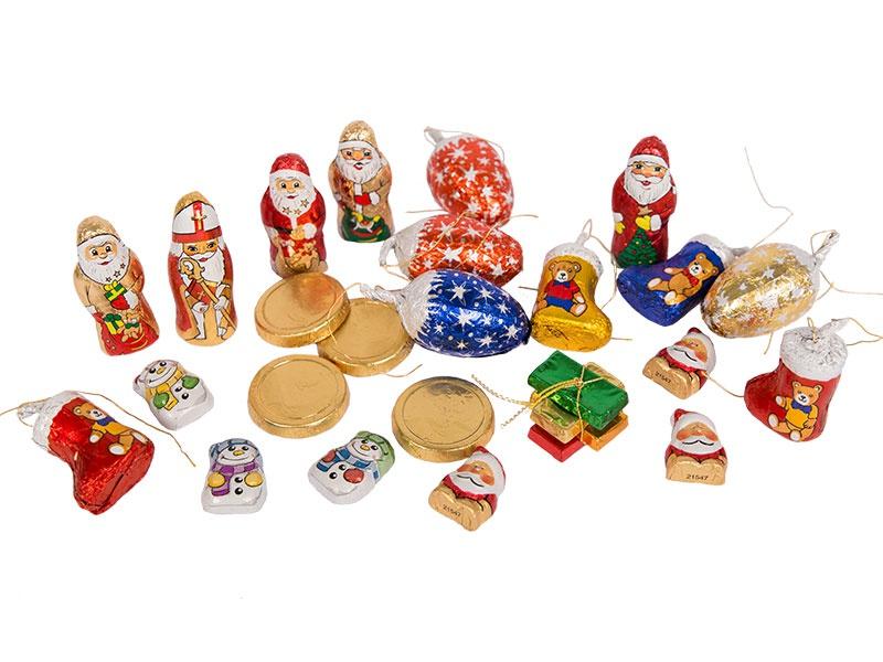 Schoko-Weihnachts-Selektion