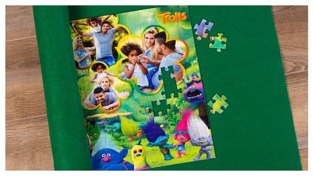 Puzzle-Matte für Trolls-Kinderpuzzle